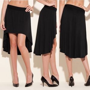 UEC Guess black high-Low pull on skirt small